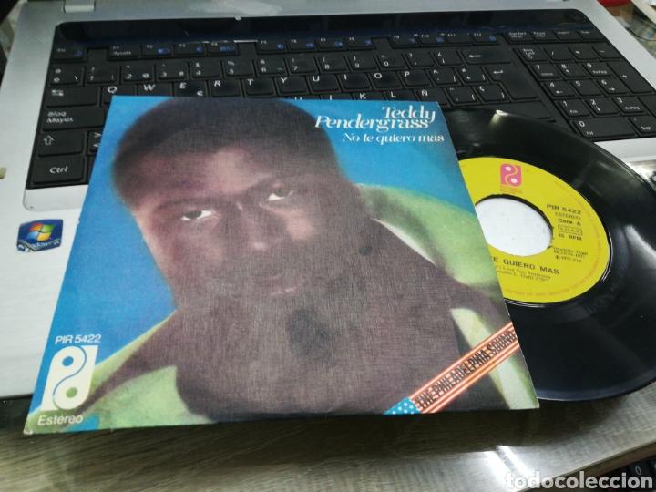 TEDDY PENDERGRASS SINGLE NO TE QUIERO MÁS ESPAÑA 1977 (Música - Discos - Singles Vinilo - Funk, Soul y Black Music)