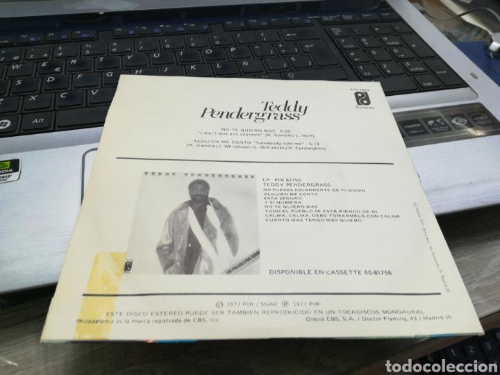 Discos de vinilo: Teddy Pendergrass single no te quiero más españa 1977 - Foto 2 - 170217436