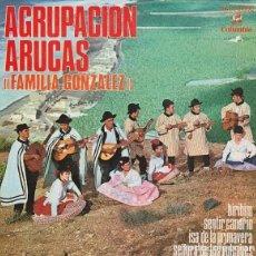 Discos de vinilo: AGRUPACION ARUCAS - BIRIBIM + 3 - EP COLUMBIA 1970. Lote 170218552