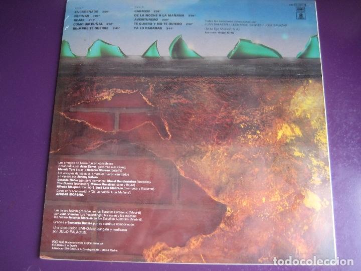 Discos de vinilo: LOS CHUNGUITOS LP EMI 1985 - CONTRA LA PARED - JOHNNY GALVAO - TITO DUARTE - PRECINTADO - RUMBAS POP - Foto 2 - 170218760