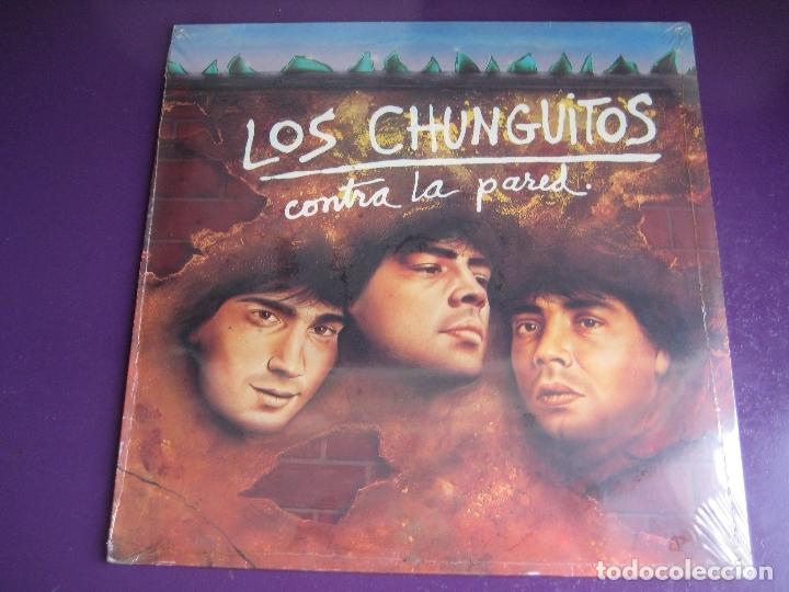 LOS CHUNGUITOS LP EMI 1985 - CONTRA LA PARED - JOHNNY GALVAO - TITO DUARTE - PRECINTADO - RUMBAS POP (Música - Discos - LP Vinilo - Flamenco, Canción española y Cuplé)