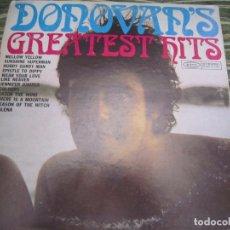 Discos de vinilo: DONOVAN - GREATEST HITS LP - EDICION U.S.A. - EPIC 1973 - GATEFOLD Y FUNDA GENERICA EPIC. Lote 170220172