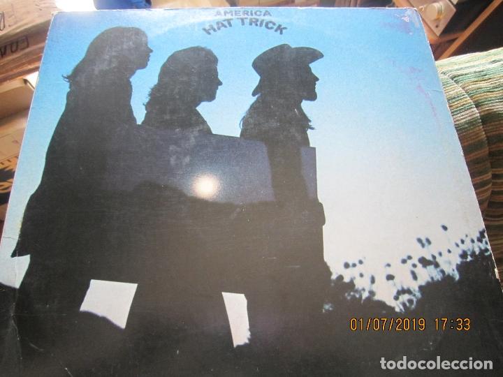 Discos de vinilo: AMERICA - HAT TRICK LP - ORIGINAL U.S.A. - WARNER BROS. 1973 CON FUNDA INT. ORIGINAL - - Foto 9 - 170224024