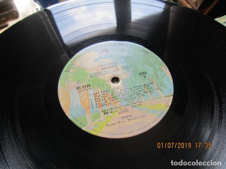 Discos de vinilo: AMERICA - HAT TRICK LP - ORIGINAL U.S.A. - WARNER BROS. 1973 CON FUNDA INT. ORIGINAL - - Foto 17 - 170224024