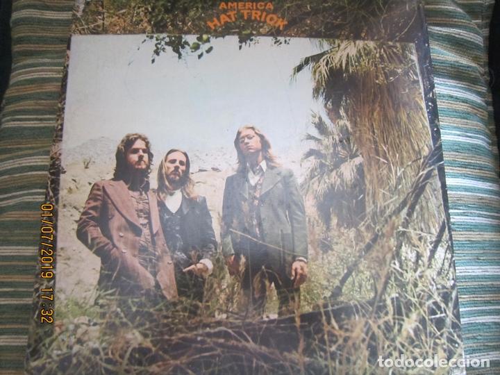 Discos de vinilo: AMERICA - HAT TRICK LP - ORIGINAL U.S.A. - WARNER BROS. 1973 CON FUNDA INT. ORIGINAL - - Foto 19 - 170224024