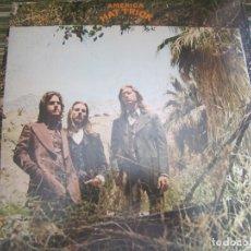 Discos de vinilo: AMERICA - HAT TRICK LP - ORIGINAL U.S.A. - WARNER BROS. 1973 CON FUNDA INT. ORIGINAL -. Lote 170224024