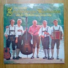 Discos de vinilo: DIE ORIGINAL SCHELLENBERGER MUSIKANTEN - UND DER SCHELLENBERGER..., CBS, 1979. GERMANY.. Lote 170225468