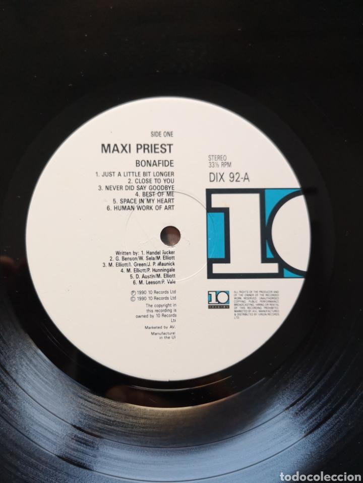 Discos de vinilo: MAXI PRIEST - BONAFIDE - LP ORIGINAL UK - Foto 2 - 170241286
