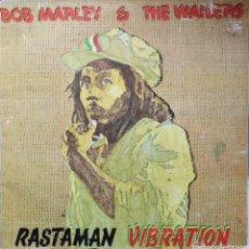 Discos de vinilo: BOB MARLEY & THE WAILERS - RASTAMAN VIBRATION. Lote 170245740