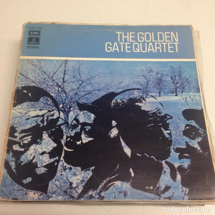 THE GOLDEN GATE QUARTET – THE GOLDEN GATE QUARTET (Música - Discos - LP Vinilo - Jazz, Jazz-Rock, Blues y R&B)