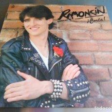 Discos de vinilo: RAMONCÍN - ¡CORTA!, LP, VALLE DEL CAS + 10, AÑO 1982. Lote 170270176