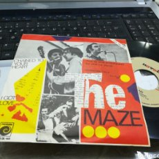 Discos de vinilo: THE MAZE SINGLE PROMOCIONAL CHAINED TO YOUR HEART ESPAÑA 1967. Lote 170270654