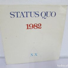 Discos de vinilo: STATUS QUO. 1982. LP VINILO. PHONOGRAM. VER FOTOGRAFIAS ADJUNTAS. Lote 170281624