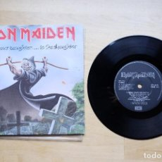 Discos de vinilo: IRON MAIDEN BRING YOUR DAUGHTER... SINGLE ETCHED. Lote 170283652