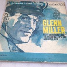 Discos de vinilo: GLENN MILLER. RCA VICTOR. HIS MASTER VOICE.. Lote 170291964
