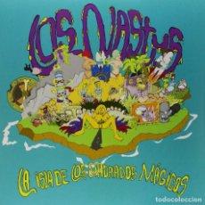Discos de vinilo: LP LOS NASTYS LA ISLA DE LOS CUADRADOS MÁGICOS VINILO GARAGE. Lote 170302708