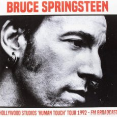 Discos de vinilo: BRUCE SPRINGSTEEN * 2LP * HOLLYWOOD STUDIOS HUMAN TOUCH TOUR 1992* LTD 500 COPIAS * PRECINTADO. Lote 170307620