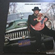 Discos de vinilo: JOHN LEE HOOKER - MR LUCKY. Lote 170308420