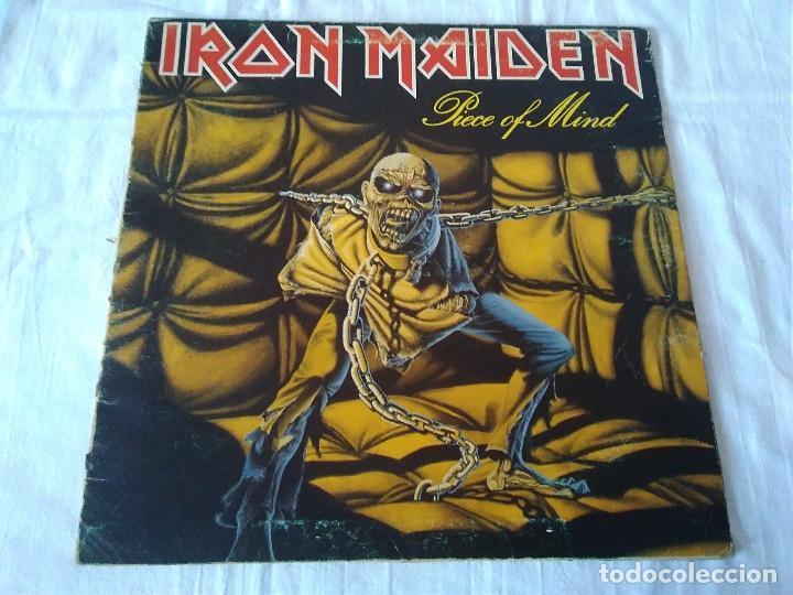 59-LP IRON MAIDEN , PIECE OF MIND, 1983 (Música - Discos de Vinilo - EPs - Pop - Rock - New Wave Internacional de los 80)
