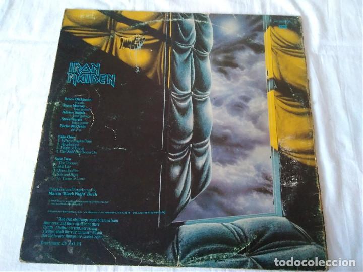 Discos de vinilo: 59-LP IRON MAIDEN , piece of mind, 1983 - Foto 4 - 170319900