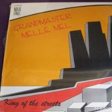 Discos de vinilo: GRANDMASTER MELLE MEL MAXI SINGLE SERDISCO 1985 PRECINTADO - KING OF THE STREETS - PIONEROS HIP HOP. Lote 170327548