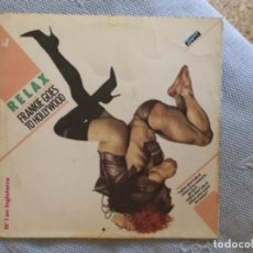 Discos de vinilo: FRANKIE GOES TO HOLLYWOOD RELAX-MAXI. Lote 170331472