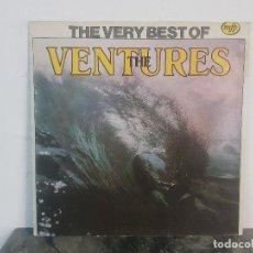 Discos de vinilo: THE VENTURES – THE VERY BEST OF THE VENTURES / VINYL, LP, COMPILATION . Lote 170337216