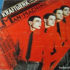 Discos de vinilo: KRAFTWERK-THE MAN MACHINE-ORIGINAL ESPAÑOL 1978-CONTIENE ENCARTE. Lote 170344396