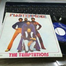 Discos de vinilo: THE TEMPTATIONS SINGLE PROMOCIONAL MASTERPIECE ESPAÑA 1973. Lote 170350556
