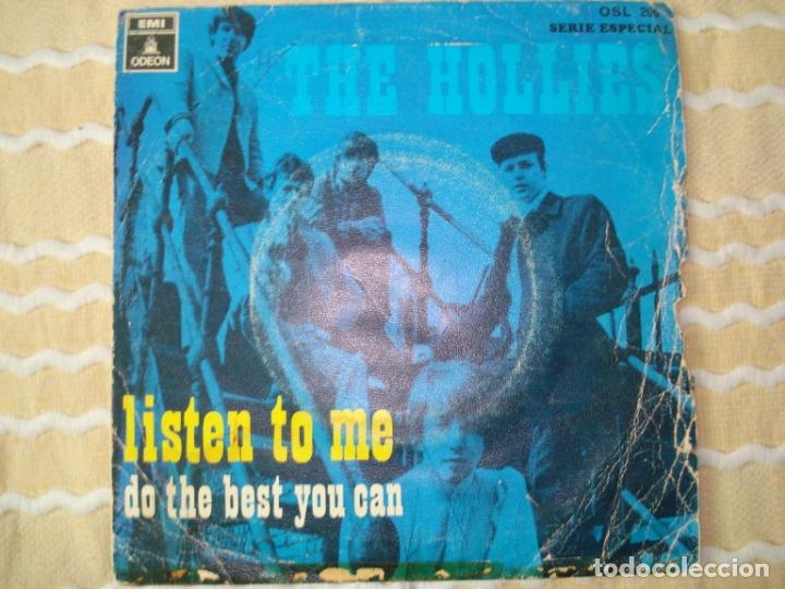 THE HOLIES - LISTEN TO ME (Música - Discos - Singles Vinilo - Pop - Rock Extranjero de los 50 y 60)