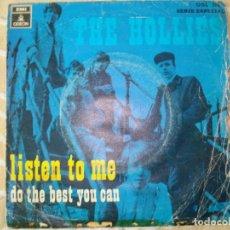 Discos de vinilo: THE HOLIES - LISTEN TO ME. Lote 170353944