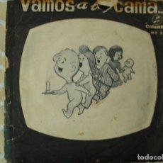 Discos de vinilo: SINGLE , VAMOS A LA CAMA , 1964. Lote 170354400