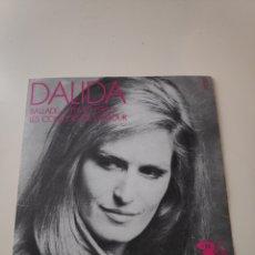 Discos de vinil: CR DALIDA - LES COULEURS DE L´AMOUR / BALLADE A TEMPS PERDU - SINGLE. Lote 170367197