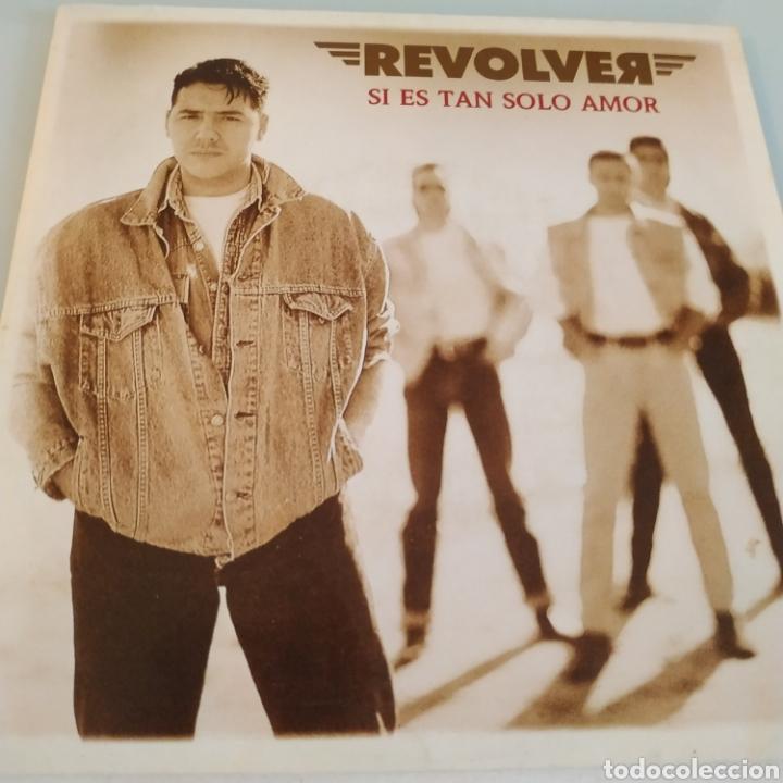 REVOLVER SI ES TAN SOLO AMOR SINGLE (Música - Discos - Singles Vinilo - Grupos Españoles de los 90 a la actualidad)