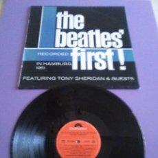 Discos de vinilo: LP. THE BEATLES FIRST ! HAMBURG 1961. SELLO POLYDOR 24 75 662. AÑO 1988. . Lote 170385240