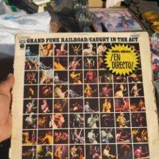 Discos de vinilo: 2 LP GRAND FUNK RAILROAD CAUGHT IN THE ACT STILL .CAPITOL 1975. Lote 170402080