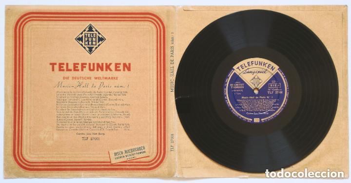 LP 10 PULGADAS - MUSIC-HALL DE PARIS NÚM.1, CANTA: LOU VAN BURG (TELEFUNKEN, 1956) (Música - Discos - LP Vinilo - Canción Francesa e Italiana)