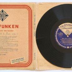 Discos de vinilo: LP 10 PULGADAS - MUSIC-HALL DE PARIS NÚM.1, CANTA: LOU VAN BURG (TELEFUNKEN, 1956). Lote 170407344