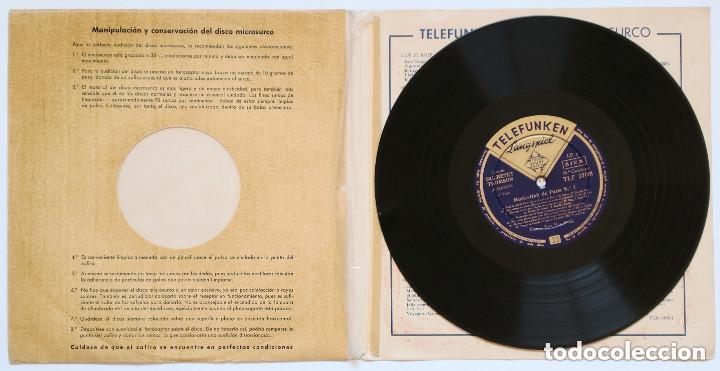 Discos de vinilo: LP 10 pulgadas - MUSIC-HALL DE PARIS núm.1, canta: LOU VAN BURG (Telefunken, 1956) - Foto 2 - 170407344