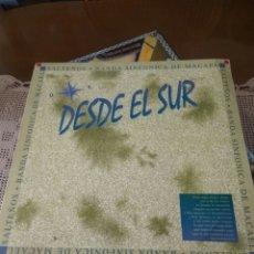 Discos de vinilo: DISCO LP SALTEÑOS BANDA SINFÓNICA MACAEL ALMERÍA DESDE EL SUR. Lote 170414865