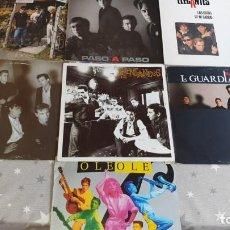 Discos de vinilo: 7 LPS GRUPOS ESPAÑOLES AÑOS 80. Lote 170416328