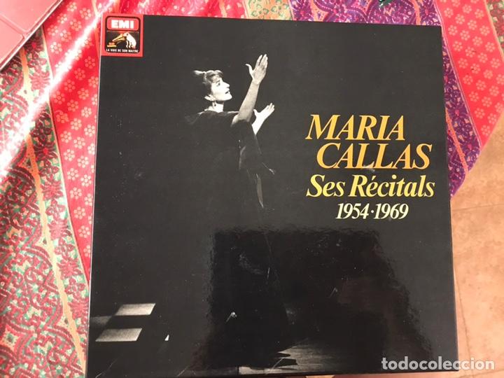 MARÍA CALLAS. SES RECITALS 1954-1969. EXCELENTE ESTADO. COMO NUEVO. VER FOTOS. BOX (Música - Discos - LP Vinilo - Clásica, Ópera, Zarzuela y Marchas)
