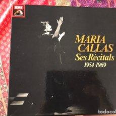 Discos de vinilo: MARÍA CALLAS. SES RECITALS 1954-1969. EXCELENTE ESTADO. COMO NUEVO. VER FOTOS. BOX. Lote 180250176