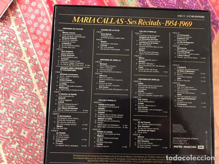 Discos de vinilo: María Callas. Ses recitals 1954-1969. Excelente estado. Como nuevo. Ver fotos. Box - Foto 2 - 180250176