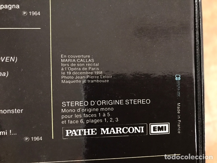 Discos de vinilo: María Callas. Ses recitals 1954-1969. Excelente estado. Como nuevo. Ver fotos. Box - Foto 6 - 180250176