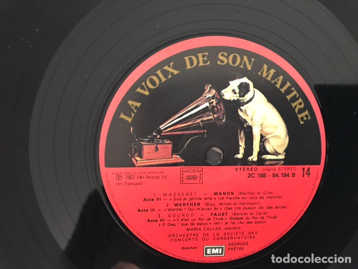 Discos de vinilo: María Callas. Ses recitals 1954-1969. Excelente estado. Como nuevo. Ver fotos. Box - Foto 38 - 180250176