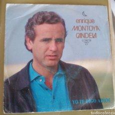 Disques de vinyle: ENRIQUE MONTOYA CANDELA - Y YO TE DIGO ADIOS. Lote 170420564