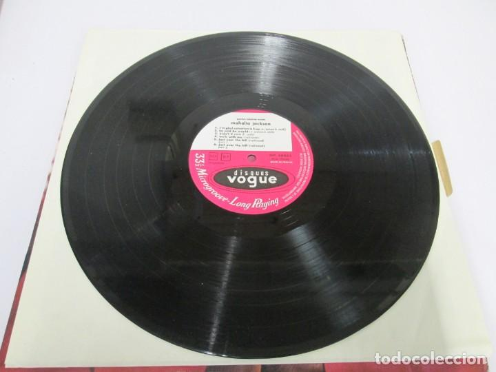 Discos de vinilo: MAHALIA JACKSON. IN THE UPPER ROOM. LP VINILO. DISQUES VOGUE. VER FOTOGRAFIAS ADJUNTAS - Foto 3 - 170427644