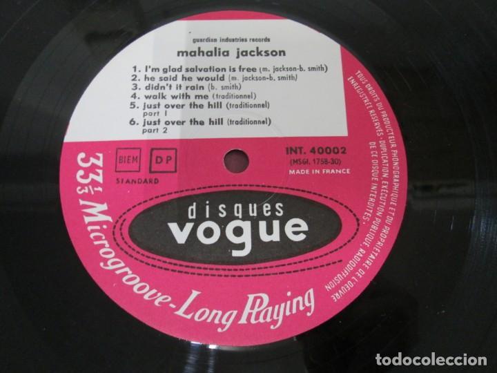 Discos de vinilo: MAHALIA JACKSON. IN THE UPPER ROOM. LP VINILO. DISQUES VOGUE. VER FOTOGRAFIAS ADJUNTAS - Foto 4 - 170427644