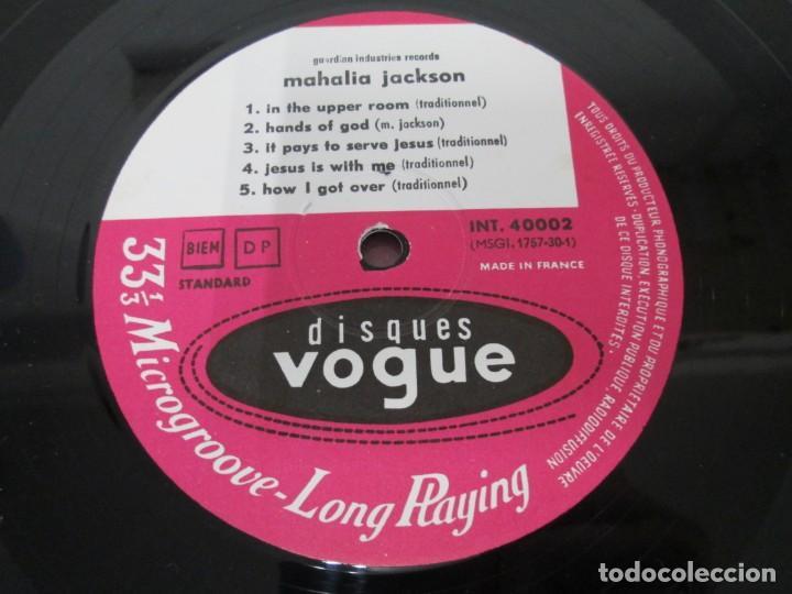 Discos de vinilo: MAHALIA JACKSON. IN THE UPPER ROOM. LP VINILO. DISQUES VOGUE. VER FOTOGRAFIAS ADJUNTAS - Foto 6 - 170427644